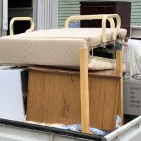 折り畳みベッド 電子レンジ 冷蔵庫 デスク 家具 片付け